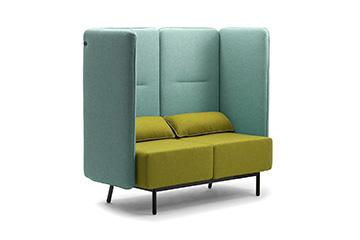 Divani e sedie per arredo negozi ed esercizi commerciali - Leyform