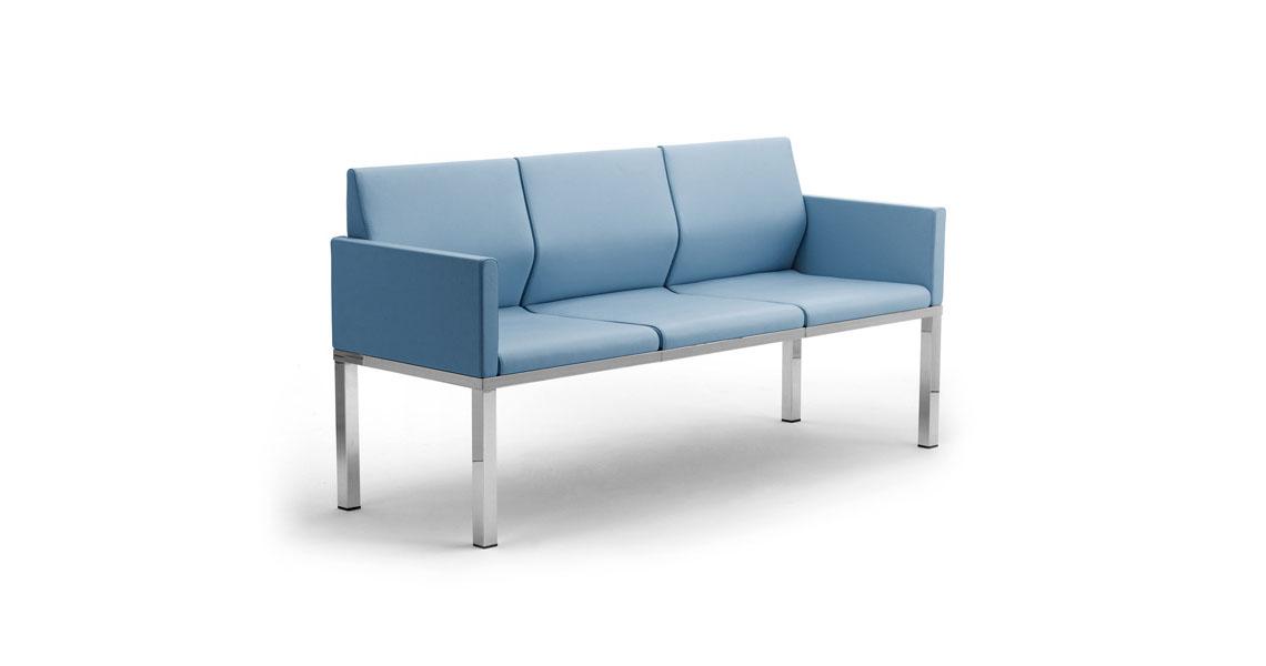 Sedie per studio sedie per ufficio sesta sax rete with for Sedie sala attesa ikea