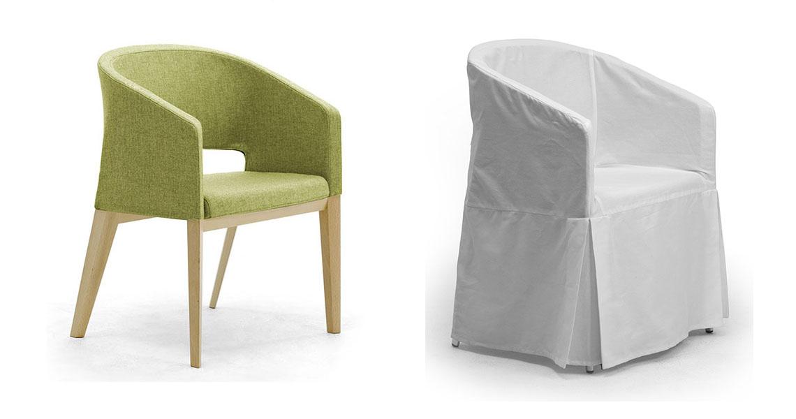 Tavoli e sedie per sala da pranzo hotel ristorante e bar leyform - Sedie da sala da pranzo ...