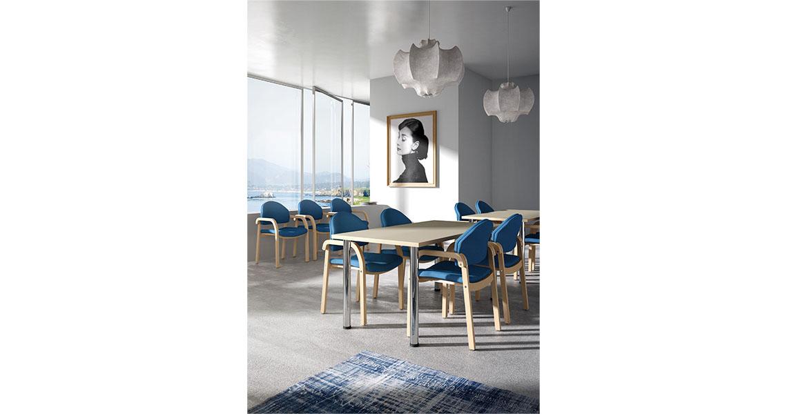 Tavoli e sedie per sala da pranzo hotel, ristorante e bar - Leyform